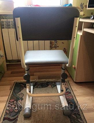 Стул для школьника регулируемый Polini City / Polini Smart L  для ребенка ростом от 145 до 185 см.