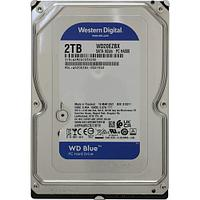 "Жёсткий диск HDD 2 Tb SATA 6Gb/s Western Digital Blue WD20EZBX 3.5"" 7200rpm 256Mb"