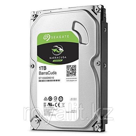 Жесткий диск HDD 1 Tb SATA  Seagate BarraСuda, ST1000DM010, 7200rpm, 64MB cache, SATA 6.0 Gb/s, фото 2