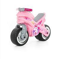 Каталка-ТОЛОКАР Мотоцикл, Розовый.