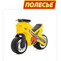 Каталка-ТОЛОКАР Мотоцикл, Желтый.