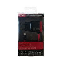 Зарядное устройство Union P01 Micro / 2 USB high speed
