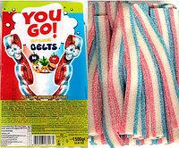 You GO язычки Мультифрукт разноцветные rainbow fruit flavors (кислые) 1,5кг