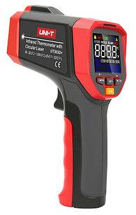 Инфракрасный термометр (пирометр)  UNI-T UT303D+ (-32°С  +1300°С). Внесен в реестр СИ РК.