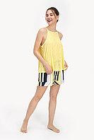 Пижама женская S / 42-44, Желтый