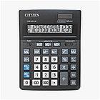 Калькулятор настольный Citizen Business Line CDB1401-BK, 14 разрядов, двойное питание, 155*205*35мм, черный, фото 3