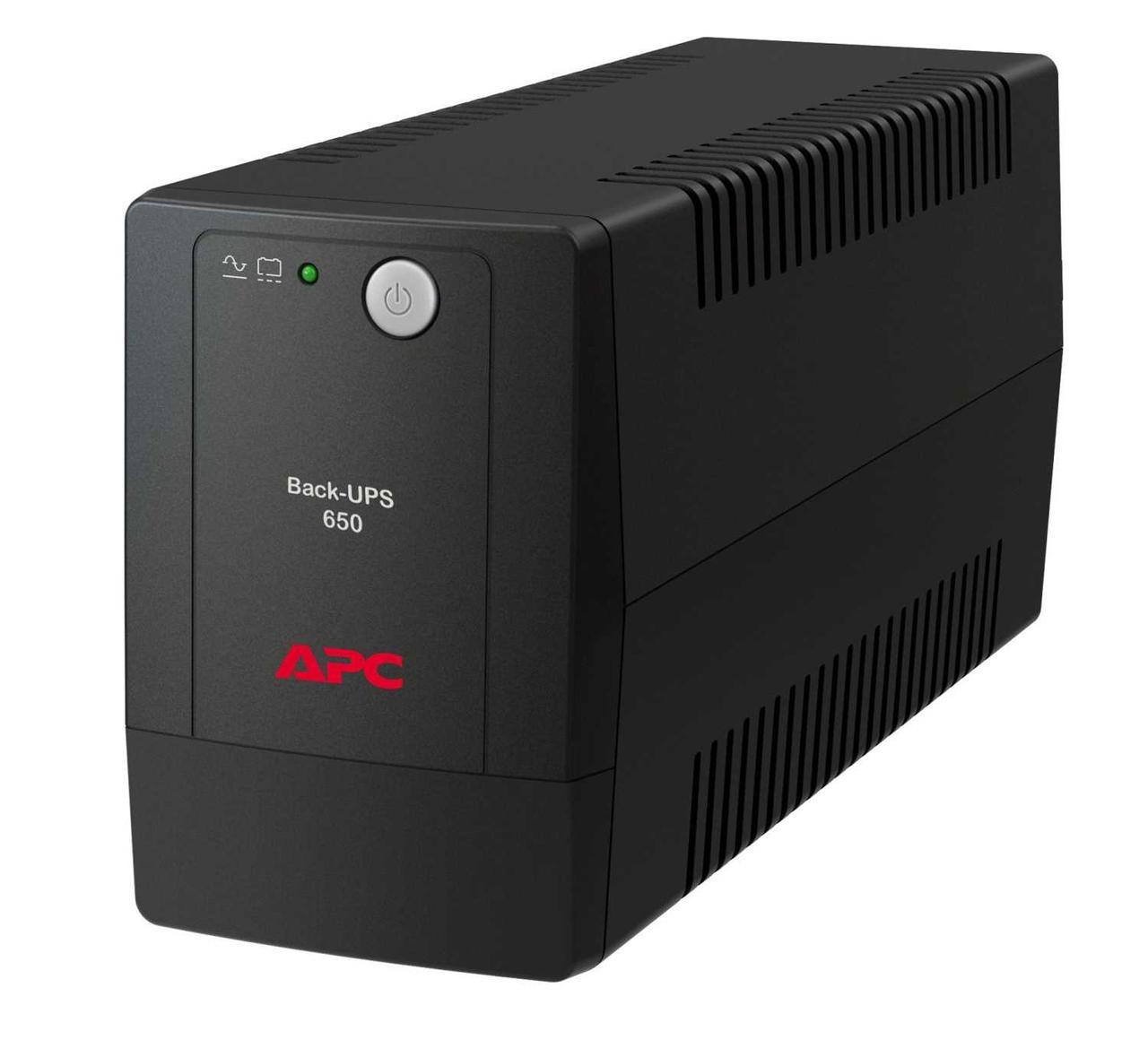 Источник бесперебойного питания APC APC Back-UPS 650VA, 230V, AVR, IEC Sockets