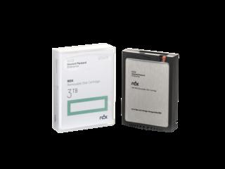 Накопитель на жестком магнитном диске HPE HPE RDX 3TB Removable Disk Cartridge - фото 2