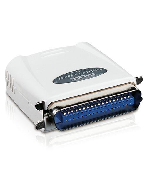 TP-Link TL-PS110P Принт-сервер с 1 параллельным портом и 1 портом Fast Ethernet