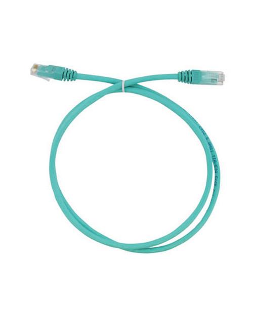 3М FQ100071981 Коммутационный кабель кат. 6, неэкранированный, RJ45-RJ45, UTP, бирюзовый, LSZH, 1 м