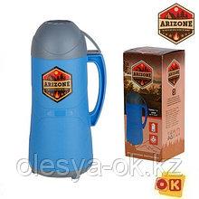 Термос 1л., пластик/стекло ARIZONE (27-131102)