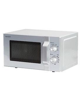 Микроволновая печь Sharp R2300RSL соло, silver ( 800Вт., 20л., механическое управление)