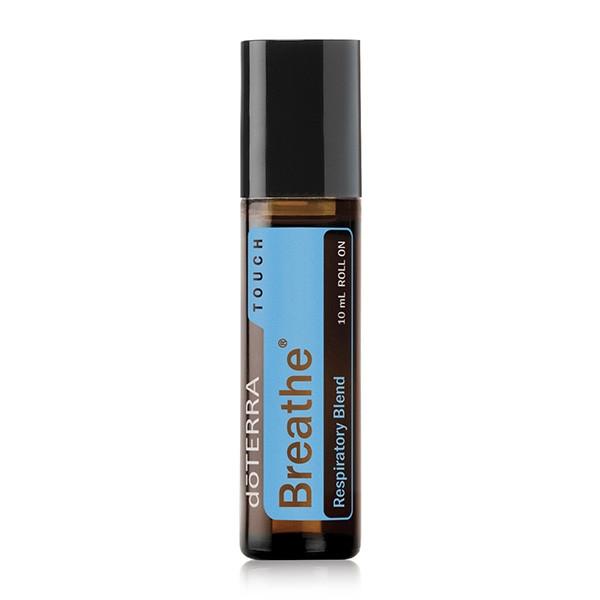 Breathe Touch Respiratory Blend / «Дыхание», смесь масел, роллер, 10 мл