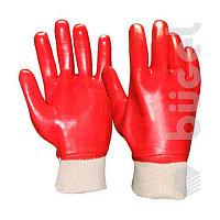 Перчатки №45 маслобензостойкие красные