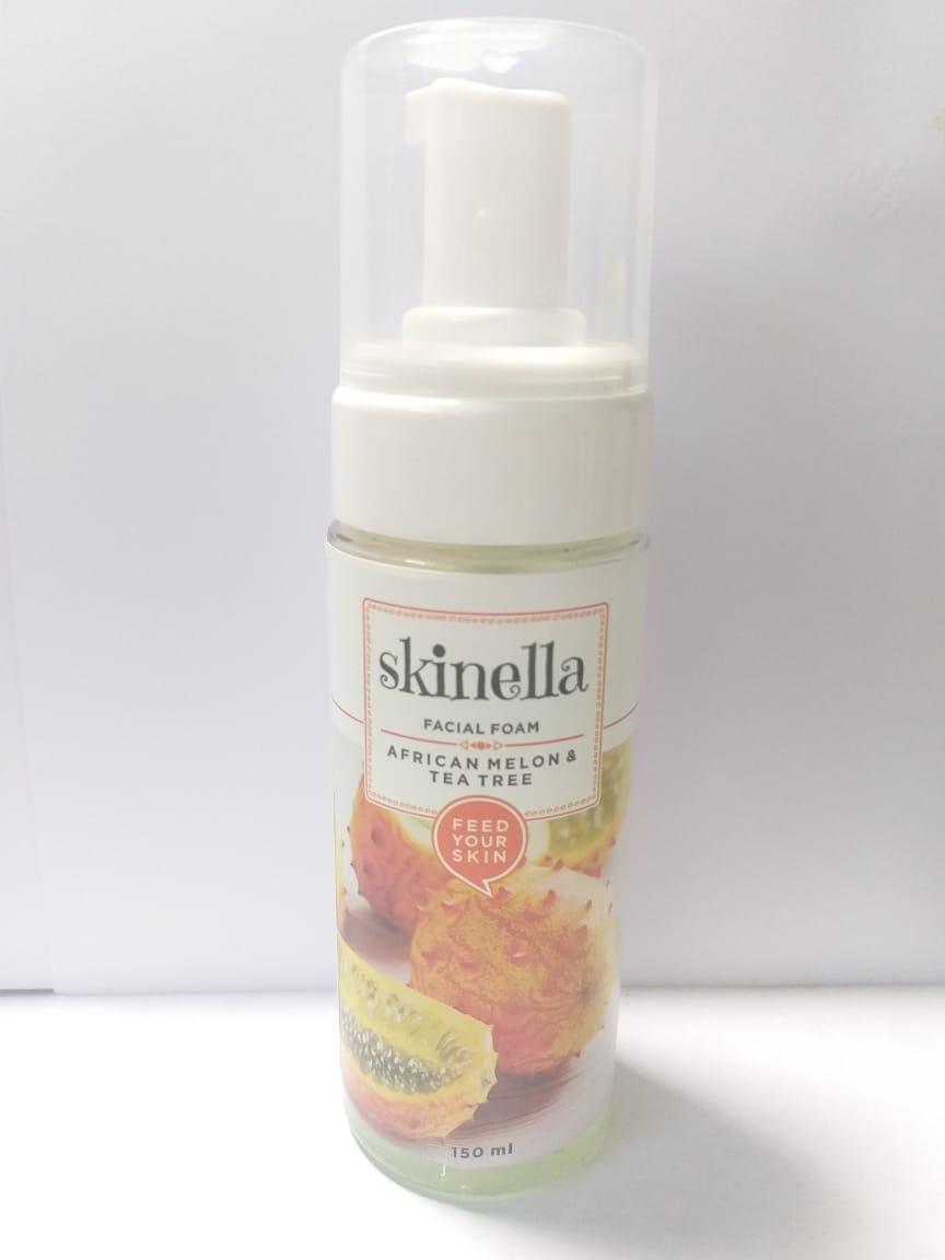 Пенка для лица Африканская дыня & чайное дерево , 150 мл, Skinella African Melon & Tea Tree