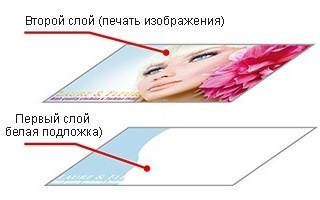 Mimaki JFX200-2513: функция двуслойной печати