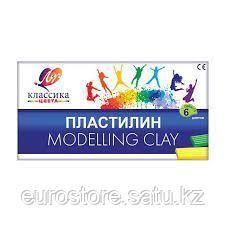 Пластилин Луч Modelling Clay 6 цветов