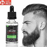 Масло для роста бороды и волос Beard growth, фото 7