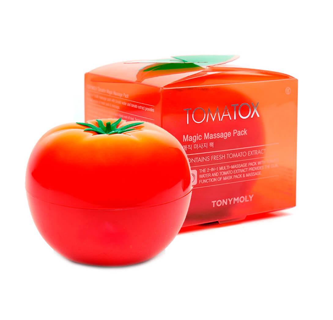 Tony Moly Отбеливающая крем-маска для лица Tomatox Magic Massage Pack / 80 мл.