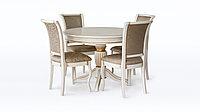 Обеденная группа стол Орион 6 и стулья Венеция М12