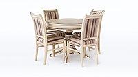 Обеденная группа стол Орион 6 и стулья Фаворит 5