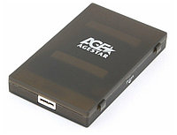 "External 2,5"" Case SATA to USB 3.0, Agestar 3UBCP1-6G, power via USB, black"