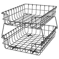 Лоток для корреспонденции, ПЛЕЙА, черный ИКЕА, IKEA
