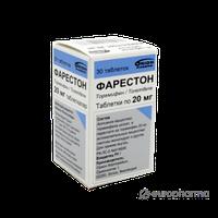 Фарестон 20 мг №30 таб.