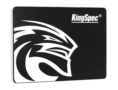 SSD SATA 240 GB KingSpec P4-240, SATA 6Gb/s черный накопитель