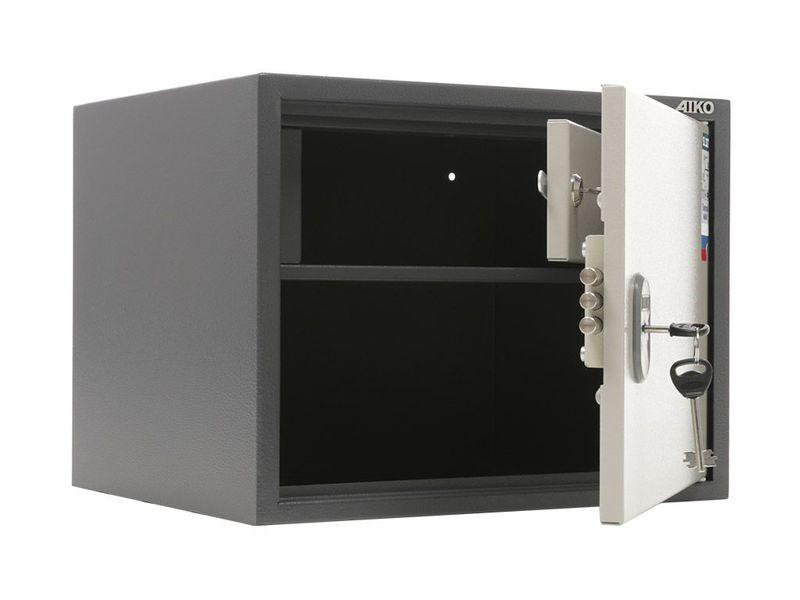 Бухгалтерский сейф Промет Практик SL-32Т, с ключевым замком и трейзером