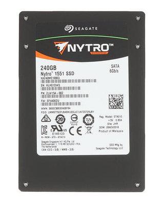 SSD SATA 240 GB Seagate Nytro 1551, XA240ME10003 7mm черный накопитель