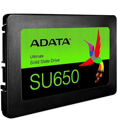 SSD SATA 256 GB ADATA Ultimate SU650, ASU650SS-256GT-R черный накопитель