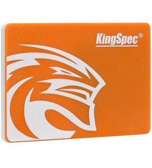 SSD SATA 256 GB KingSpec P3-256, SATA 6Gb/s оранжевый накопитель