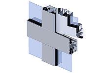Светопрозрачная стеклянная система КП54