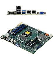 Материнская плата SuperMicro MBD-X11SSL-F-B MB Socket1151, MATX, iC232 (D-Sub, GNIC) 4DDR4, PCIx16, 2PCIx8, oe