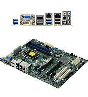 Материнская плата SuperMicro MBD-X11SAE-F-O MB Socket1151, MATX, iC236 (VGA, GNIC) 4DDR4, 2PCIx16, 2PCIx4, 2PC