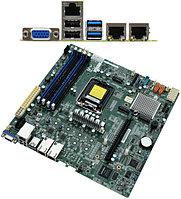 Материнская плата SuperMicro MBD-X11SCM-F-O MB Socket1151, MATX, iC246 (VGA, 2GNIC) 4DDR4, PCIx16