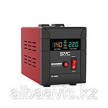 Стабилизатор напряжения для настенного размещения 500 ватт. Однофазный стабилизатор напряжения.
