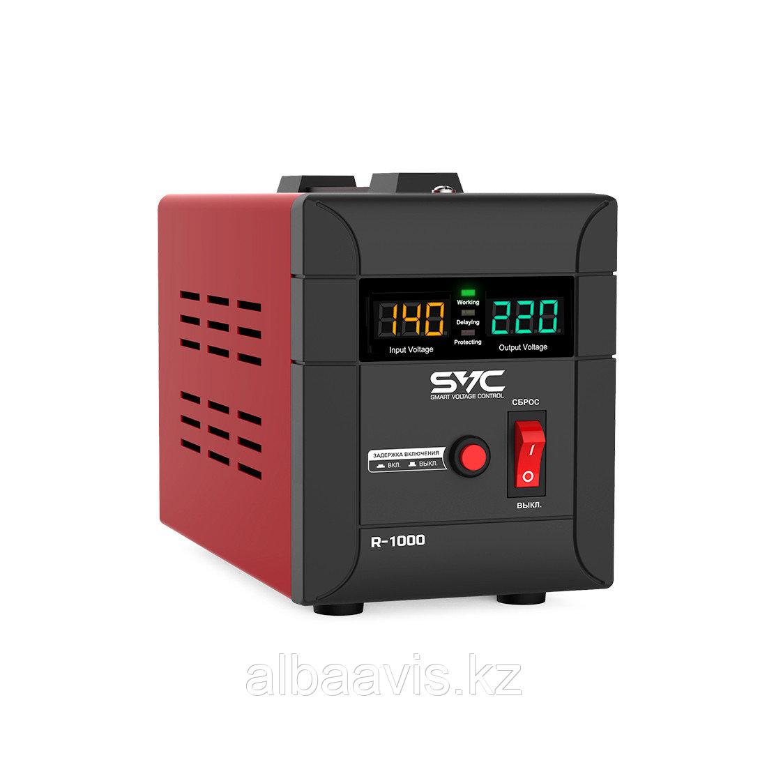 Стабилизатор напряжения для настенного размещения 1000 ватт. Однофазный стабилизатор напряжения.