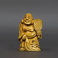 Нэцкэ «Хотей с веером» символ богатства и веселья Китай, начало ХХ века