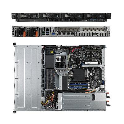 Баребон сервер Asus server RS300-E10-RS4, S1151 Xeon, iC242, 4 DDR4, VGA, DVD-RW, 6SATA, Rack 1U