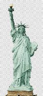 Статуя свободы из пенопласта