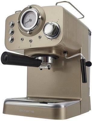 Кофеварка Polaris PCM 1532E (шампань)