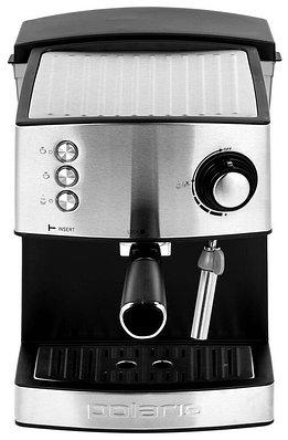 Кофеварка Polaris PCM 1537AE ADORE CREMA (экспрессо) черный