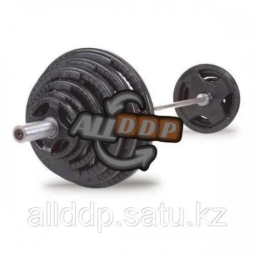 Штанга с олимпийскими весами 180 кг Body-Solid (OSR400S)