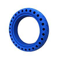 Литая покрышка/резина/шина,синяя для Xiaomi Mijia Electric M365/Pro,круглая