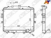 Радиатор HYUNDAI PORTER/H100 04- 2.5D