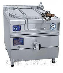 Котел пищеварочный электрический, сливной кран, паровая рубашка, цельнотянутый КПЭМ-100/9 Т(полностью нерж)