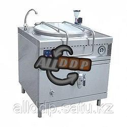 Котел пищеварочный электрический, сливной кран, паровая рубашка, цельнотянутый КПЭМ-160/9 Т(полностью нерж)