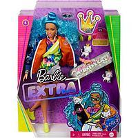 Кукла Барби «Экстра» с голубыми волосами